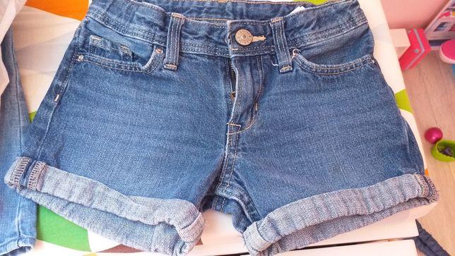 Spodenki jeans h&m