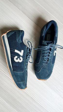 Замшевые городские мокасины кроссовки 38 cherokee