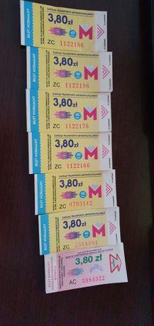 Bilety autobusowe bilet tramwajowy KZK GOP