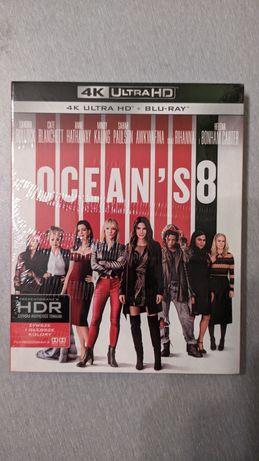 "Film ""Ocean's 8"" 4K Ultra HD. 2xBlu-Ray."