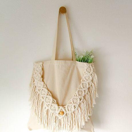 Eco Bag / Tote Bag Macramé