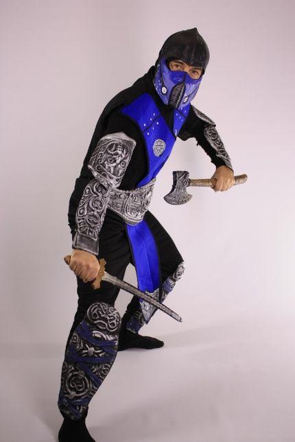 Оригинальный костюм детский взрослый рыцарь ниндзя гусар мушкетер