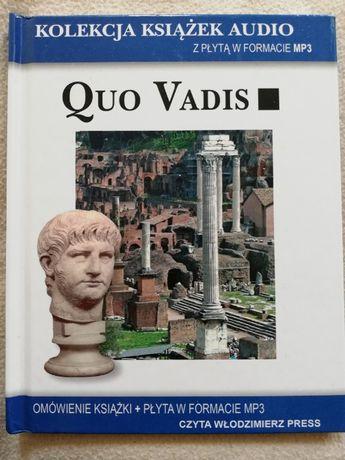 """Audiobook """"Quo Vadis"""" wersja: omówienie książki+Płyta formatu MP3"""
