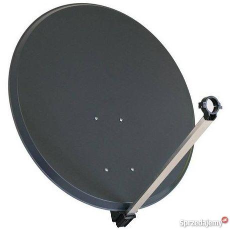 Antena satelitarna 80, montaż i ustawianie