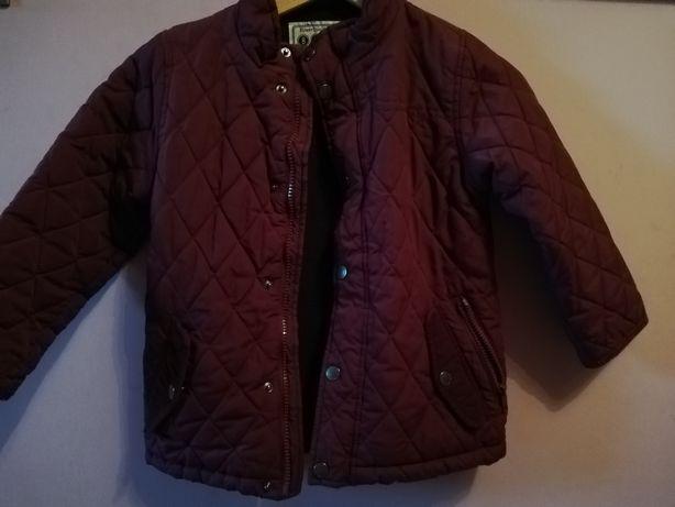 Bordowa kurtka dla chłopca