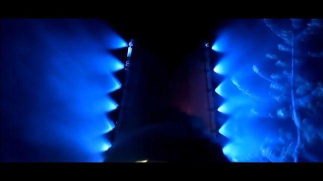 Opryskiwacz LED 3W niebieski do masztowego, belki, sadowniczego. 12V