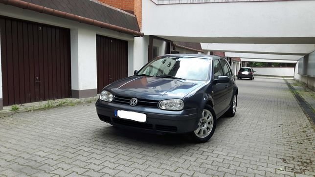 VW Golf 4  1.9 TDI  110KM /zwykła pompa/ klima/ 12 Lat Jeden Właścicie