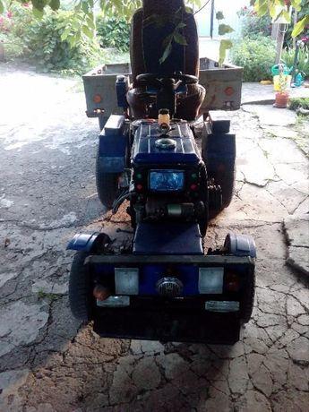 Мототрактор дизельный Добрыня Силач-119 К