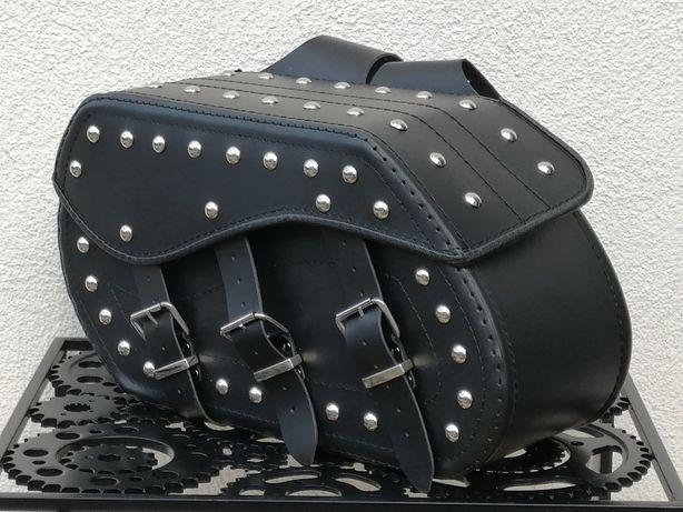 Sakwy boczne kufry torby yamaha honda suzuki kawasaki DUŻE 19L