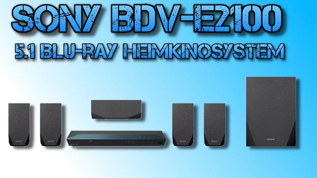 Sony Blu-Ray DVD Home Cinema Bluetooth