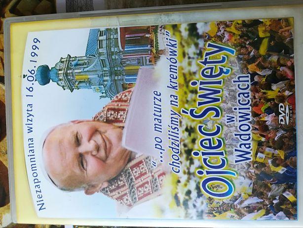 Ojciec Święty w Wadowice płyta DVD