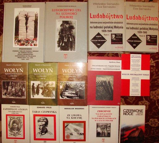 Wołyń, ludobójstwo, Kresy, UPA - książki