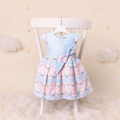Дитячі сукні для дівчаток віком з 9 м до 6 років