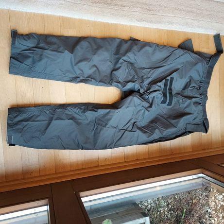 Spodnie motocyklowe przeciwdeszczowe PROOF, szare, rozm S (M), stan bd