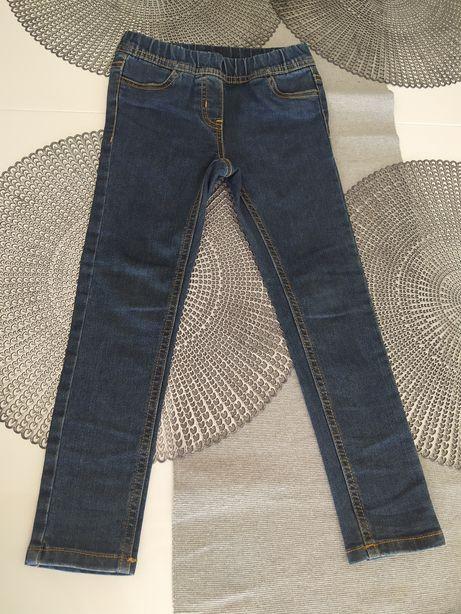 Spodnie jeansy c&a r 110