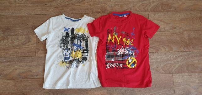 Koszulki chłopięce 134