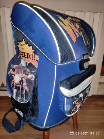 Школьный каркасный ортопедический рюкзак Herlitz для мальчика