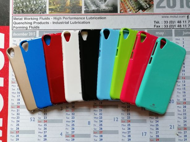 Etui Case Jelly Mercury Goospery do HTC Desire 830 Kolory