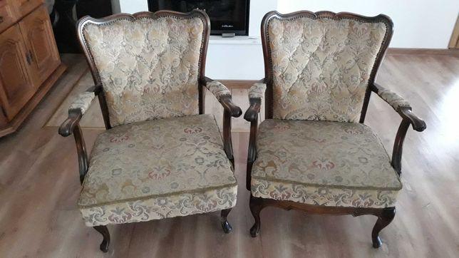 Fotel antyczny stylowy 2 szt.