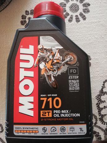 Motul  710 óleo 100%sintético  road e off-road