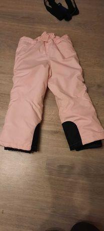 spodnie narciarskie dla dziewczynki 104