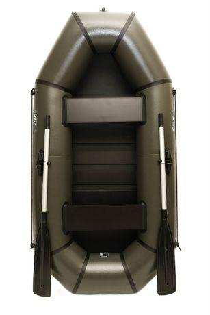Лодка пвх надувная двухместная с полом Grif boat GL-250LS