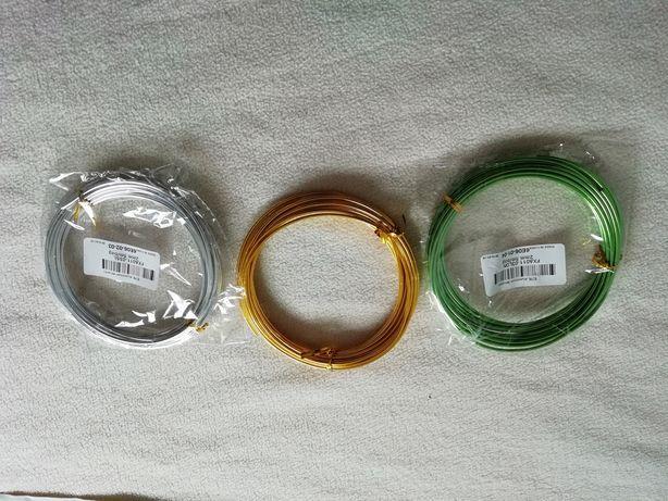 Arame alumínio Bonsai 2,0mm/2,5mm
