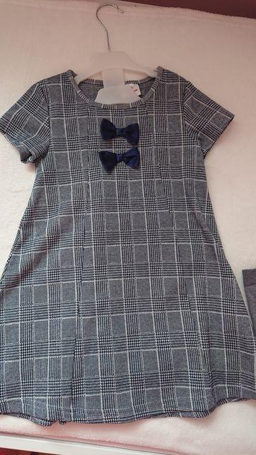 Sukienka roz.122 Bez prasowania