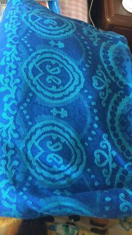 Слінг didymos ornament kornblumenblau