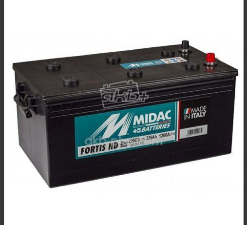 Акумулятор Італія MIDAC FORTIS, 12V, 225Ah Доставка безкоштовно