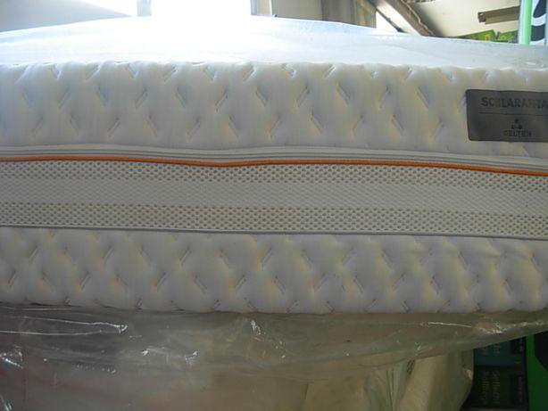 Materac 90x200x26cm Schlaraffia GELTEX 7 Stref H2 sprężynowy