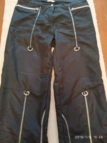 Женские брюки зимние, спортивные, на флисе.