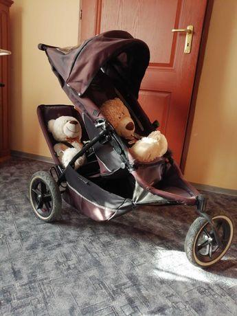 Phil teds e3 wózek dziecięcy rok po roku