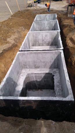 Zbiornik Betonowy na gnojowice szambo betonowe odchody ścieki-9tyś l