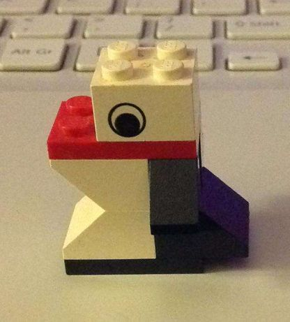 LEGO Pingwin z 2000 r UNIKAT 8 pcs