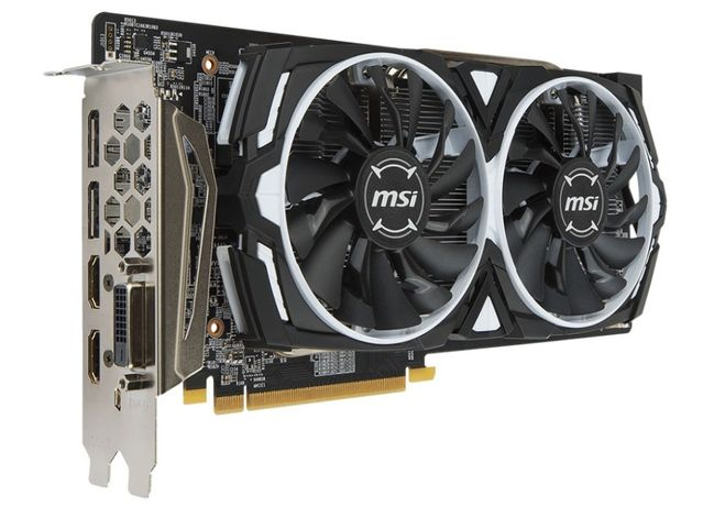 Відеокарта MSI Radeon RX 580 ARMOR 8G OC