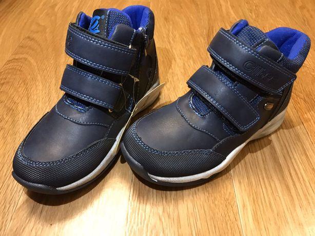 Демисезонный ботинки для мальчика Clibee