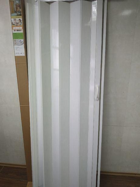 Дверь гармошка межкомнатная ассортимент доставка из Днепра