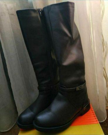 Сапожки сапоги черевики зимові