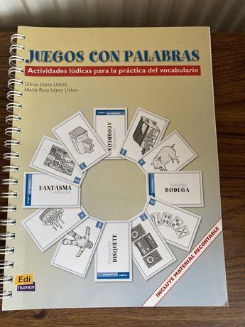 Juegos con palabras książka do nauki hiszpańskiego