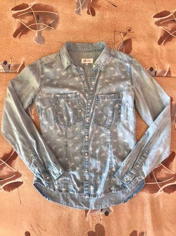 Джинсовая рубашка yfl RESERVED женская