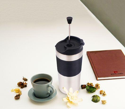 Заварник для чаю/кави френч прес портативний LUNCH RIGHTHot&Cool LR350
