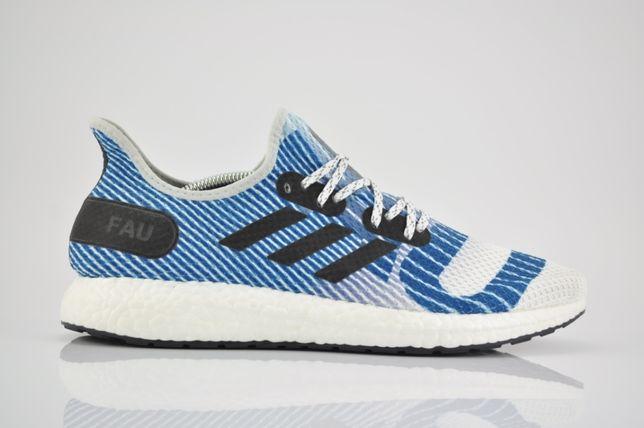 "Adidas Speedfactory AM4 FAU ""White/Blue"" 44 nowe G28197 sklep PURRFECT"