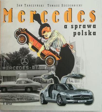 Mercedes a sprawa polska książka album nowa