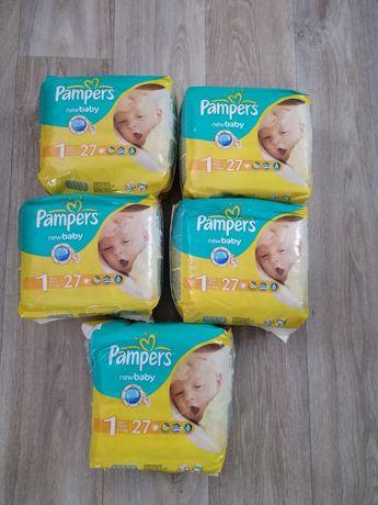 Детские подгузники, памперси Pampers new baby 1