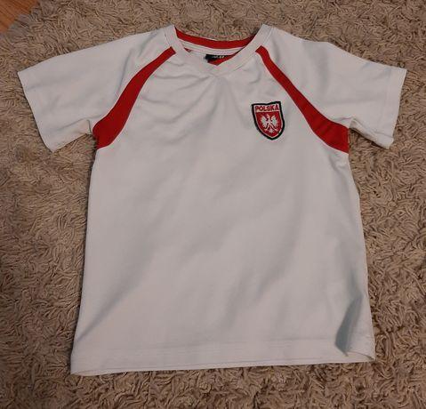 Koszulka piłkarska nr 9 Polska H&M r. 98/104