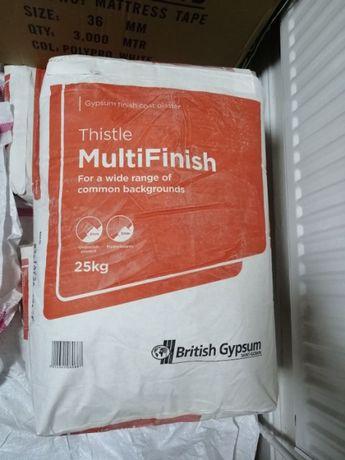 Multi-Finish bezpyłowa gładź szpachlowa 25kg -> Nowa