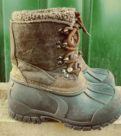 Ботинки зимние детские Snow Adventure, Columbia, Merrell 29 размер.