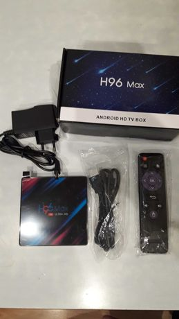 H96 MAX Smart tv Box RK3318 Android 9