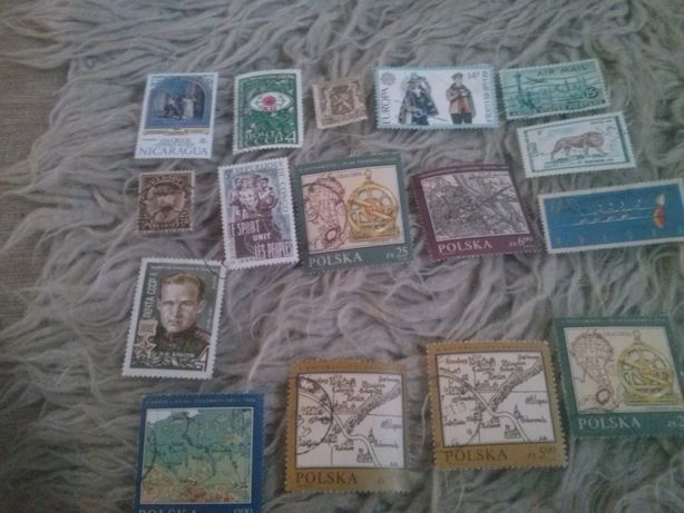 znaczki różne mix